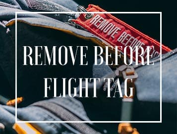Remove Before Flight Banner Menu